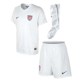 Nike Young Boy USA World Cup 2014 Soccer Jersey Mini Kit