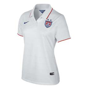Nike Womens USA World Cup 2014 Soccer Jersey (Home)