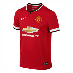 Nike Youth Manchester United Soccer Jersey (Home 14/15)