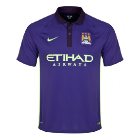 Nike Manchester City Flash Flood Soccer Jersey (Alternate 14/15)