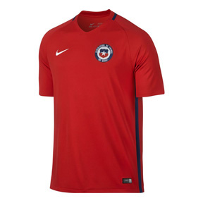 Nike  Chile  Soccer Jersey (Home 16/17)