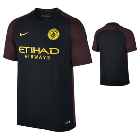 Nike Manchester City Soccer Jersey (Away 16/17)