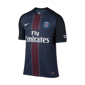 Nike Youth Paris Saint-Germain Soccer Jersey (Home 16/17)