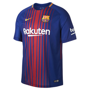Nike Youth  Barcelona   Soccer Jersey (Home 17/18)