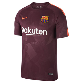 Nike Barcelona Soccer Jersey (Alternate 17/18)