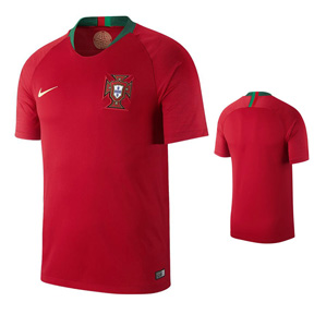 Nike Youth  Portugal World Cup 2018 Soccer Jersey (Home)