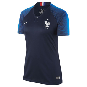 Nike Womens France Soccer Jersey (Home 18/19)