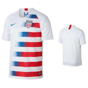 Nike  USA  Soccer Jersey (Home 18/19)