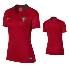 Nike Womens  Portugal World Cup 2018 Soccer Jersey (Home)