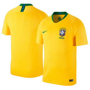Nike Youth   Brazil World Cup 2018 Soccer Jersey (Home)