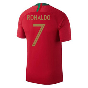 Nike Youth   Portugal  Ronaldo #7 World Cup 2018 Jersey (Home)