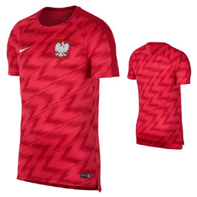Nike  Poland World Cup 2018 Squad Soccer Training Jersey