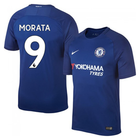 Nike Youth Chelsea Morata #9 Soccer Jersey (Home 17/18)