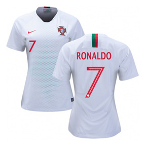 premium selection 1b0c1 e18e3 Nike Womens Portugal Cristiano Ronaldo #7 Jersey (Away 18/19 ...