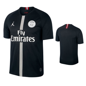 Nike Youth Paris Saint-Germain PSG Jumpman Jersey (Black 18/19)