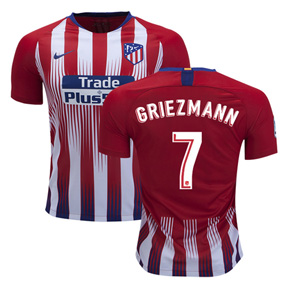 Nike  Atletico Madrid Griezmann #7 Soccer Jersey (Home 18/19)