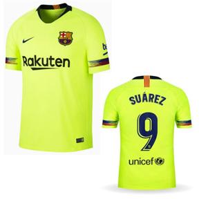 competitive price 045b0 24a92 Nike Barcelona Suarez #9 Soccer Jersey (Away 18/19 ...