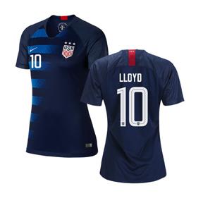 c06f0b88bfc Nike Womens USA Carli Lloyd  10 USWNT Jersey (Away 18 19 ...