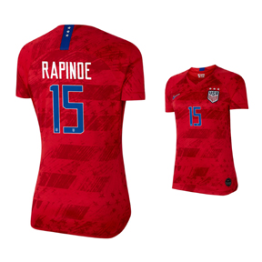sale retailer 92587 c9d08 Nike USWNT Rapinoe #15 Womens Soccer Jersey (Away 19/20 ...