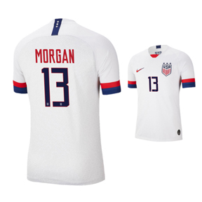 Nike  USA  Alex Morgan #13 Men's Soccer Jersey (Home 19/20)