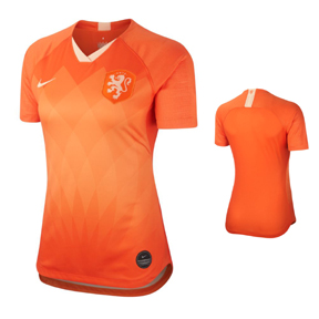 Nike Womens  Holland  Soccer Jersey (Home 19/20)