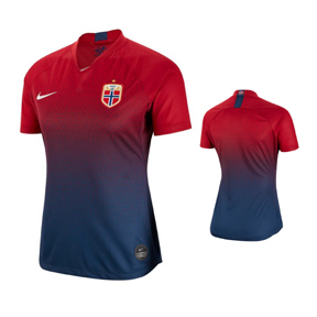 Nike   Womens  Norway World Cup 2019 Soccer Jersey (Home 19/20)