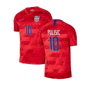 Nike Youth  USA   Christian Pulisic #10  Soccer Jersey (Away 19/20)