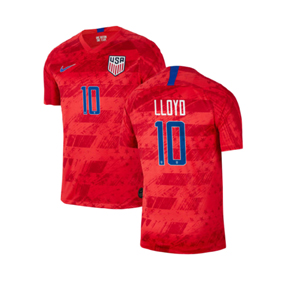 Nike Youth  USA   Carli Lloyd #10 Soccer Jersey (Away 19/20)