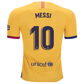 Nike  Barcelona  Lionel Messi #10 Soccer Jersey (Away 19/20)