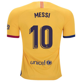 Nike Youth  Barcelona  Lionel Messi #10 Jersey (Away 19/20)