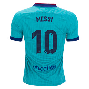 Nike Youth  Barcelona  Lionel Messi #10 Soccer Jersey (Alternate 19/20)