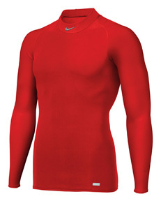 Nike Pro Seamless Long Sleeve Tight Compression Mock