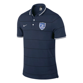 Nike USA World Cup 2014 Authentic League Soccer Polo (Navy)