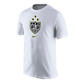 best cheap 9dd62 439a2 Nike Youth USA USWNT 3-Star National Team Crest Soccer Tee ...