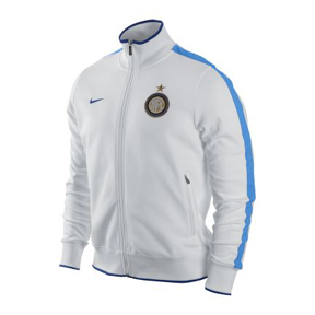 Nike Inter Milan Authentic CL N98 Soccer Track Top (White/Blue)