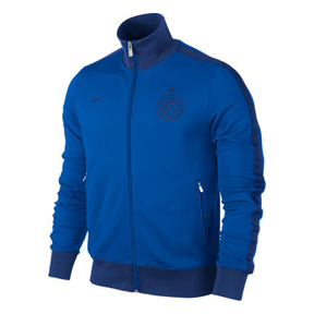 Nike Inter Milan Authentic N98 Soccer Track Top (Royal/Navy)