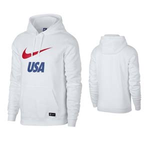 Nike  USA  Core Soccer Hoody (White 2019/20)