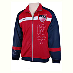 Nike USA 1913 Transit Soccer Track Top (Red/White/Blue)