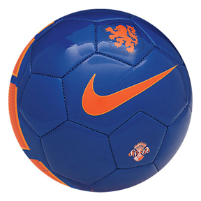 Nike Holland Supporters Soccer Ball (Blue/Orange)
