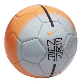 Nike Neymar Prestige Soccer Ball (Orange/Grey)