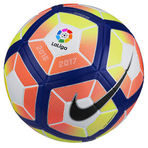 Nike Ordem 4 La Liga Match Soccer Ball (Orange/Yellow)