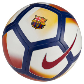 Nike Barcelona Pitch Soccer Ball (White/Noble Red)