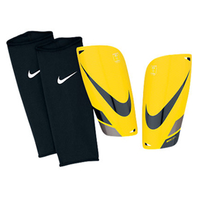 Nike Mercurial Lite Soccer Shinguard (Yellow/Black)
