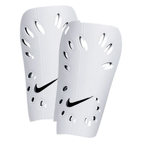 Nike Youth J-Guard Soccer Shinguard (White)