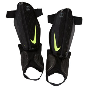 Nike Youth Protegga Flex Shinguard (Black/Volt)