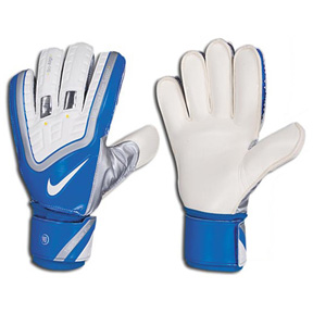 Nike Total 90 Spyne Pro Soccer Goalkeeper Glove (White/Photo Blue)