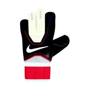 Nike GK Vapor Grip 3 Soccer Goalie Glove (Black/Crimson)