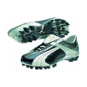 Puma Soccer Cleats Puma Cellerator Zero FG Soccer Shoes (Blue/Grey) @ SoccerEvolution