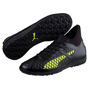 Puma  Future  18.3 Turf Soccer Shoes (Black/Yellow)