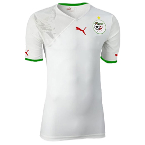 Puma Algeria World Cup 2010 Soccer Jersey (Home 2010/11)